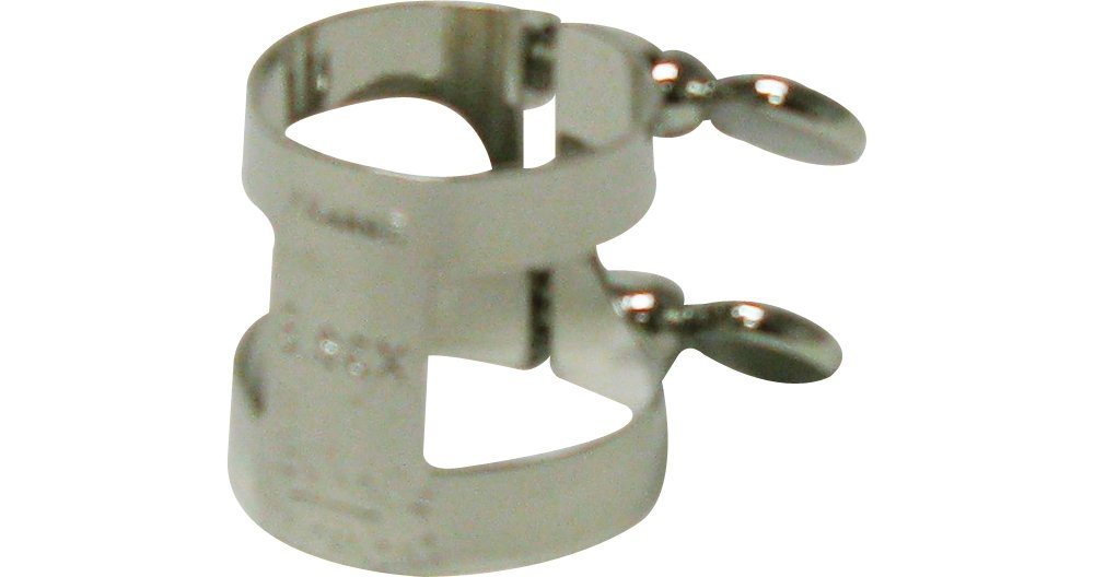 Bonade 2257U Inverted Soprano Saxophone Nickel Ligature Model