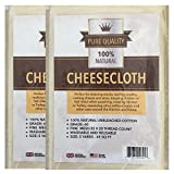 Cheesecloth :: Unbleached Natural Grade 60 Cotton Cheese Cloth :: 2 Packs