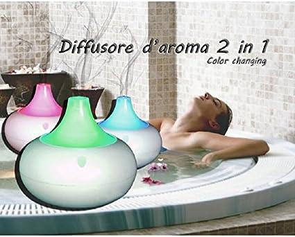 Difusor de aroma con cromoterapia Aromaterapia Purificador de aire ...