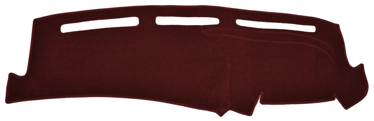 Seat Covers Unlimited Chevy Full Size Pick-up Dash Cover Mat Pad - 1988-1994 (Custom Carpet, Maroon)