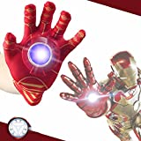 RIANZ Iron Man Single Hand Glove with Light and Sound for your kids