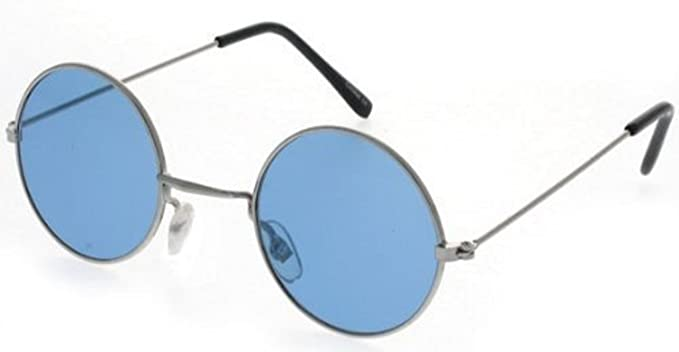 cb9fa23d889 Blue John Lennon 70 s glasses  Amazon.co.uk  Clothing