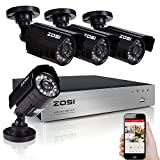 ZOSI 4 Channel 720P H.264 4CH Real Time Review and Comparison