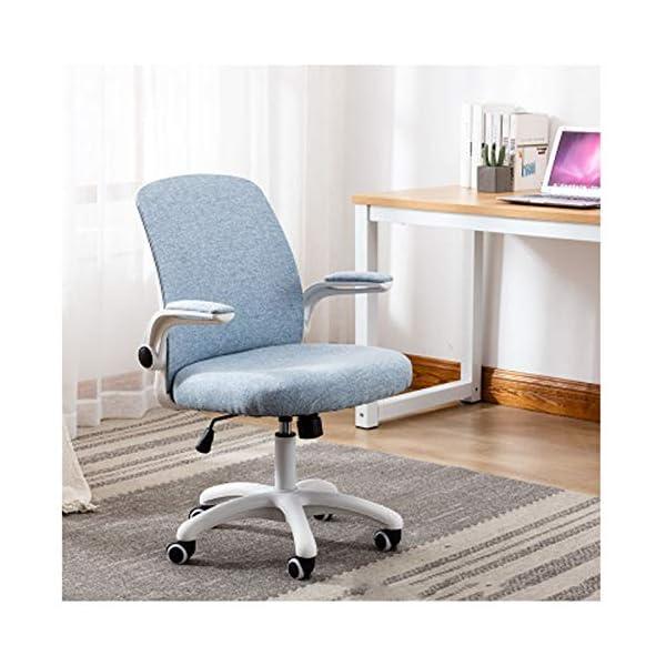Chaise de Bureau Jeu Chaise Ordinateur Chaise Maison Confortable Sédentaire Cute Girl Chambre des étudiants Ascenseur…