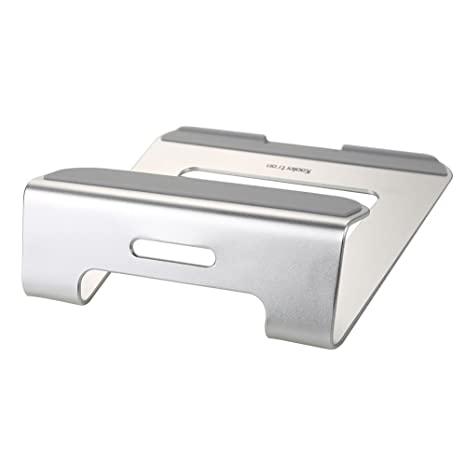 Koolertron Aluminio Soporte Base de enfriamiento para portátil para Apple MacBook Air y MacBook Pro y