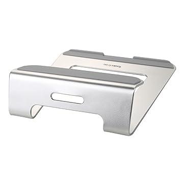 Koolertron Aluminio Soporte Base de enfriamiento para portátil para Apple MacBook Air y MacBook Pro y todos los otros ordenadores portátiles (Plata): ...