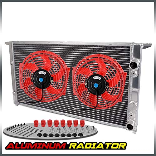 For 1994-1998 VOLKSWAGEN VW GOLF GTI VR6 MK3 V6 Aluminum Racing Cooling Radiator Replacement With 10