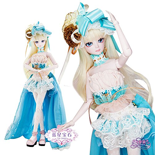 Isabella BJD Dolls 1/4 SD Doll 45cm 18'' Jointed Dolls Toy Gift for Girl by EVA BJD (Image #9)
