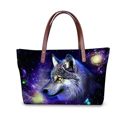 FancyPrint Fashion Bages Nyecc3196al Handbags Casual Women Tote rracSdqw