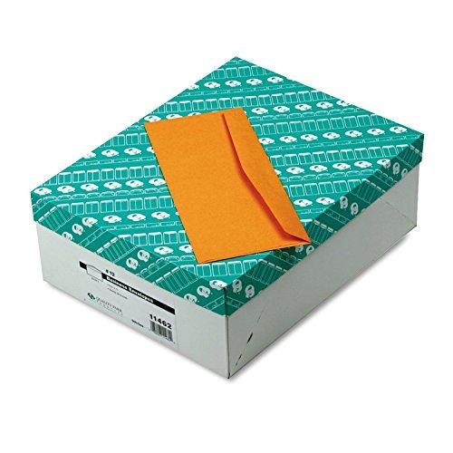 Quality Park 11462 Business Envelopes, 28Lb, No 12, 4-3/4''x11'',500/BX, KFT by Quality Park