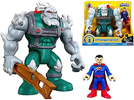 Amazon Com Imaginext Dc Superfriends Doomsday Superman Figures