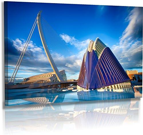 Fotoatelier Dirk Haas Premium Pared Imágenes XXL – Arquitectura – Imágenes – España – Valencia – Museo Artes Cien cias (fah346hdr): Amazon.es: Juguetes y juegos