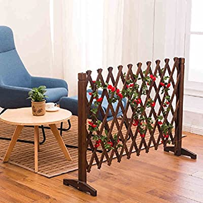 Cut Off Flower Racks Solid Wood Restaurant Living Room Interior Balcony Decoration Wall Children Wooden Fence Fence Outdoor LH: 9036cm