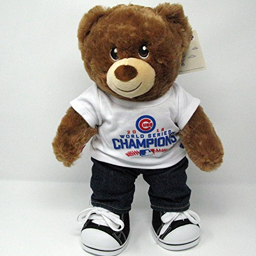 c815e319a4c Chicago Cubs Musical Chicago Cubs 2016 World Series Champions Baseball Teddy  Bear Newspaper featuring the World Series Win! - Buy Online in UAE.