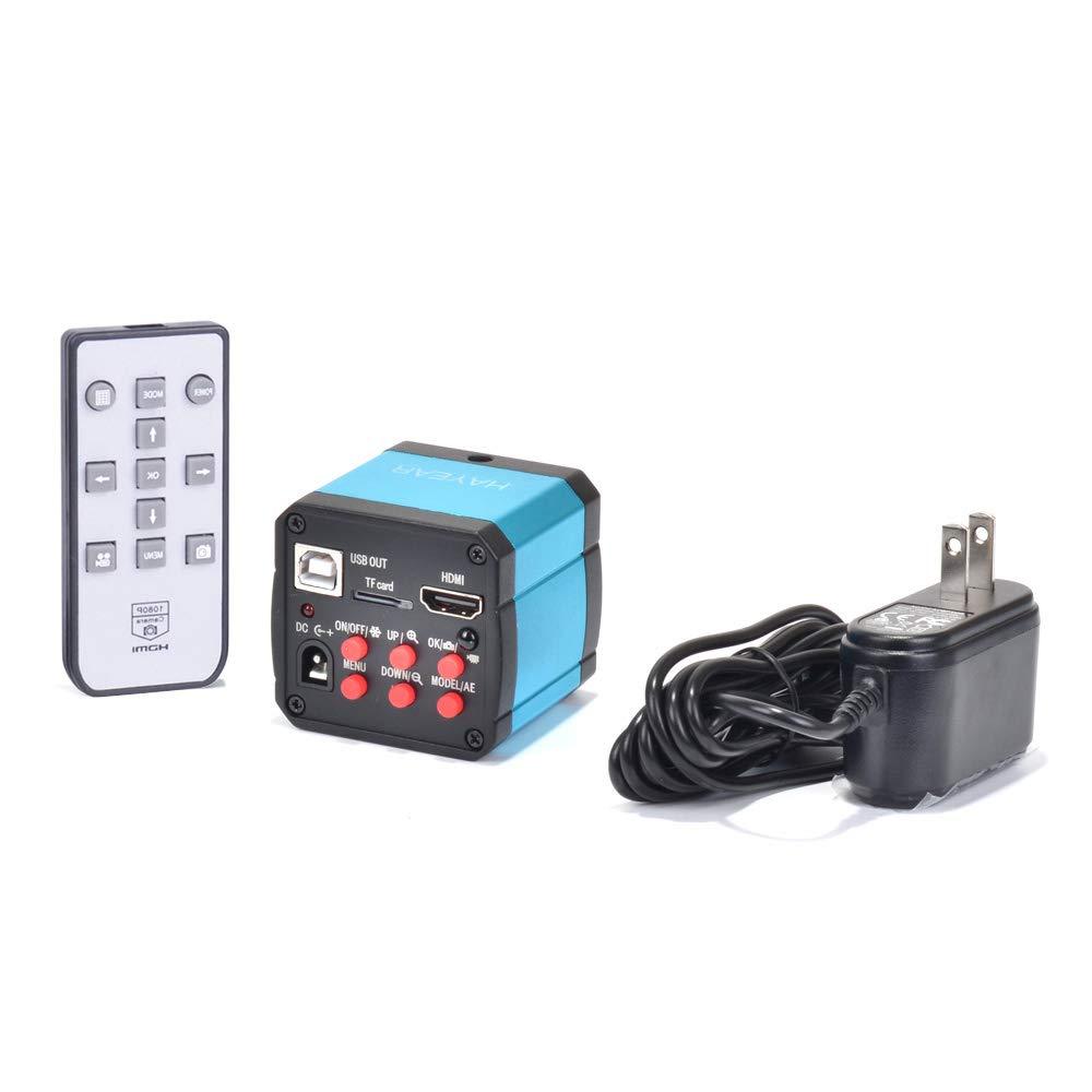 14mp Tv Hdmi USB Industry Digital C-Mount Microscope Camera Tf Video Recoder DVR by HAYEAR
