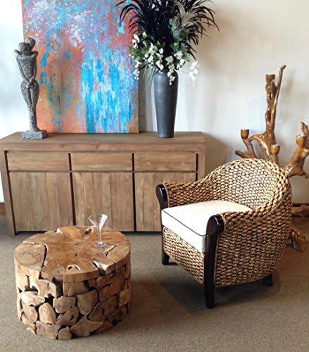 Water Hyacinth Soldano Club Chair