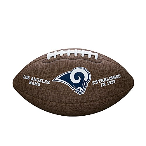 NFL Team Logo Composite Football, Official - St. Louis Rams