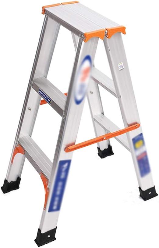 CXLO Escalera de Aluminio escalerilla 2/3/4 peldaños Escalera Multifuncional Adecuado para el desmontaje y Montaje de Bombillas, Cortinas, decoración Interior y Exterior: Amazon.es: Hogar