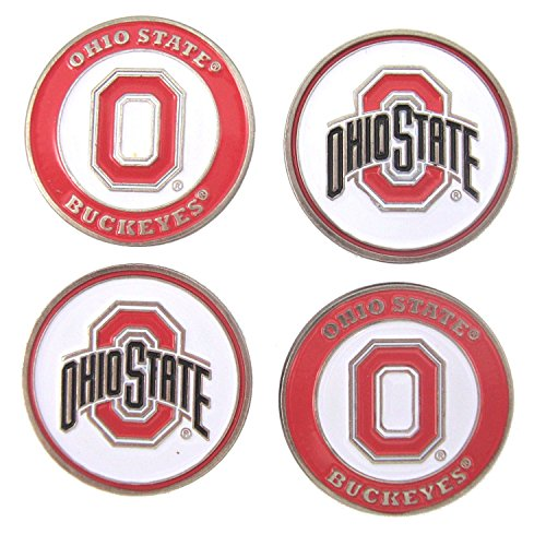 Ohio State Buckeyes Golf Ball Markers (Set of 4)