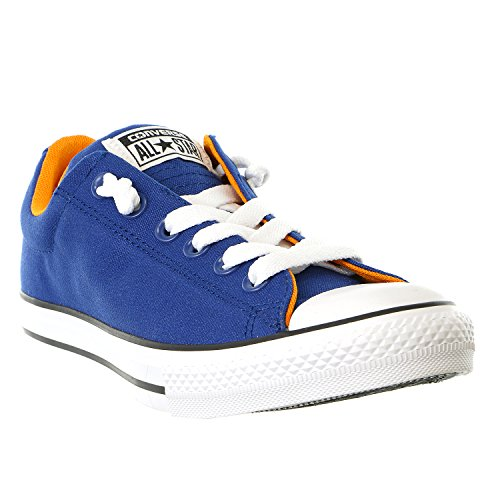 Converse Jungen Boy Sneaker Gr. 36 CTAS Street Slip Roadtrip BLUE/ORANGE/WHITE *** 654262F *** Canvas LT