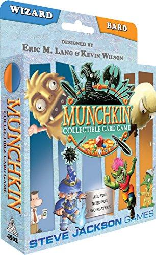 Steve Jackson Games Munchkin CCG: Wizard and Bard Starter