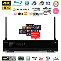 Egreat A10 Enthusiast 4K HDR Blu-ray HDD Media Player Ultra HD With Wi-Fi HDD Tray (With No Disc Slot, 2016 Model)