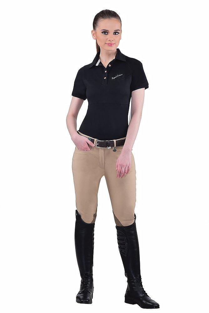 Tuffrider Ladies Perfect Knee Patch Breech JPC Equestrian