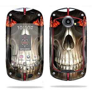 Viesrod - Protective Vinyl Skin Decal Cover for Casio G'zOne Commando C711 B GzOne Sticker Skins Evil Reaper