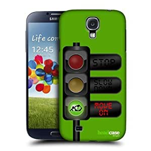 Move On Life Signal Design Back Case Cover For Samsung Galaxy S4 I9500