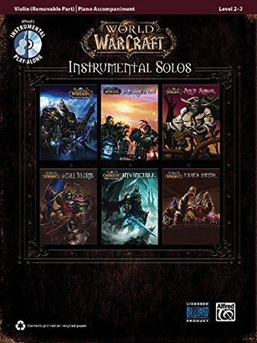 World of Warcraft Instrumental Solos for Strings: Violin, Book & CD (Pop Instrumental Solos Series)