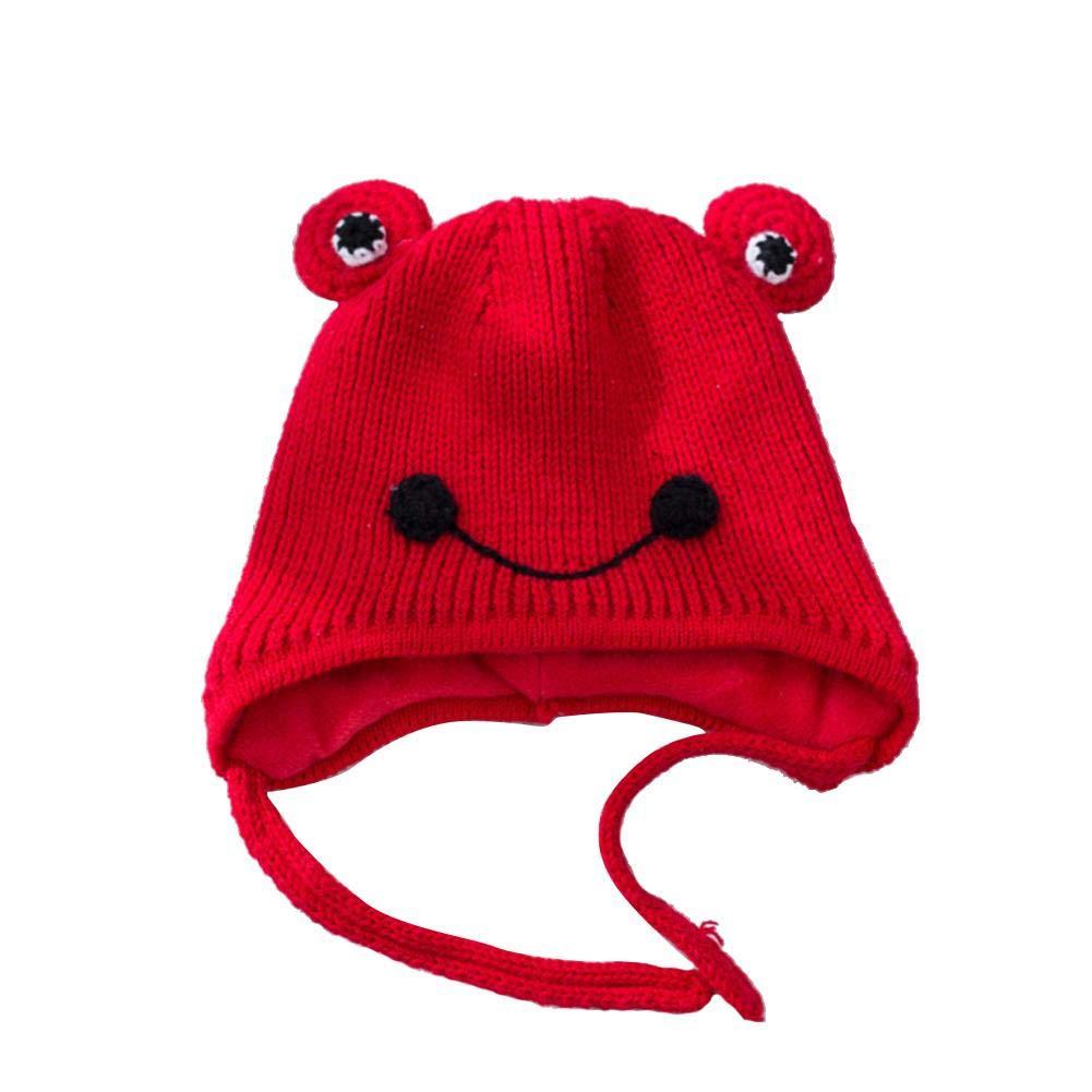 Oddity Cappello per berretto paraorecchie per berretto Cappello per  berretto di lana per berretto carino a forma di rana per bambini   Amazon.it  Prima ... bc106b74c2fb