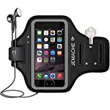 iPhone 6/6S/7/8 Armband, JEMACHE Fingerprint Touch Supported Sports Review and Comparison