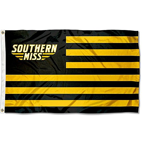 Southern Mississippi Eagles Stars and Stripes Nation Flag