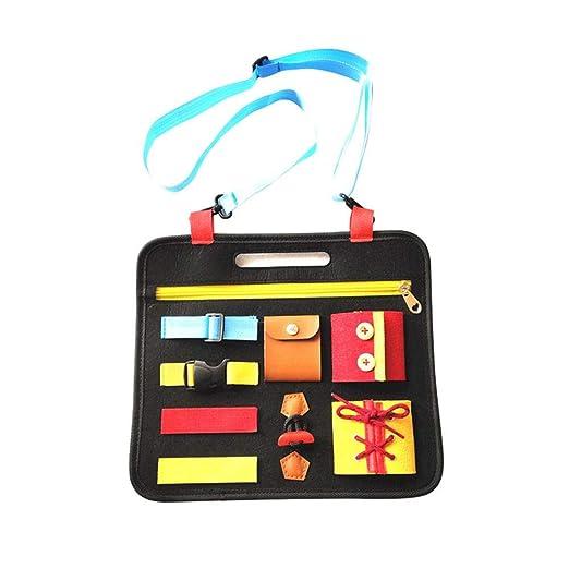 luminiu Montessori Aprender tableros de Vestir,Juguetes Educativos ...