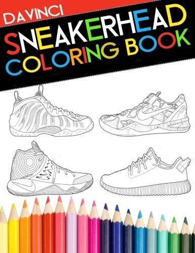 - Sneakerhead Coloring book