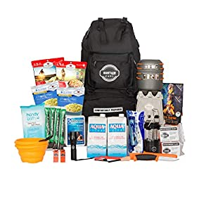 Sustain Supply Co. Premium Emergency Survival Bag/Kit - Be Equipped with 72 Hours of Disaster Preparedness Supplies for 2 People, Comfort2