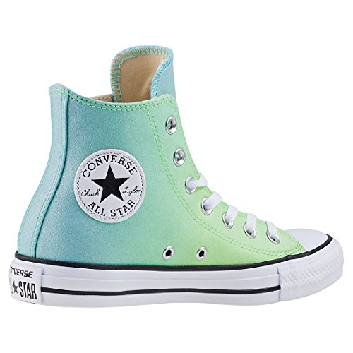 Men's taglia 9 HI TOP VERDE CONVERSE GRATIS UK