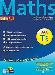 DEFIBAC C/M/EXO MATHS TER S