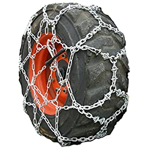 TireChain.com Diamond Reinforced Net Tire Chains 10-16.5, 10.00-16.5 Skid Steer Tractor Priced per Pair