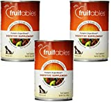 (3 Pack) Fruitables Dog Digestive Supplement, Pumpkin, Fortified With Vitamins, Fiber and Ginger, 15 Ounce Cans