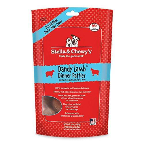 Stella & Chewy's Dandy Lamb Dinner Patties, 15 Ounce Bag (2 pack)
