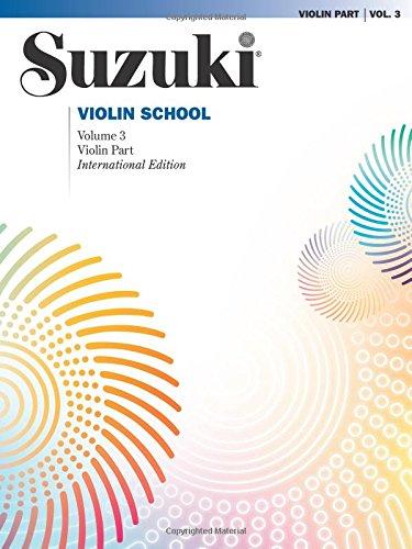 Suzuki Violin School, Vol 3: Violin Part