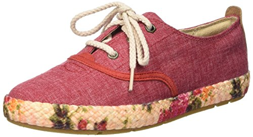 Rosso Bay Bay Casco casco Femme Fabric Rojo Sneakers Oxford Basses Timberland 5qvS6ww