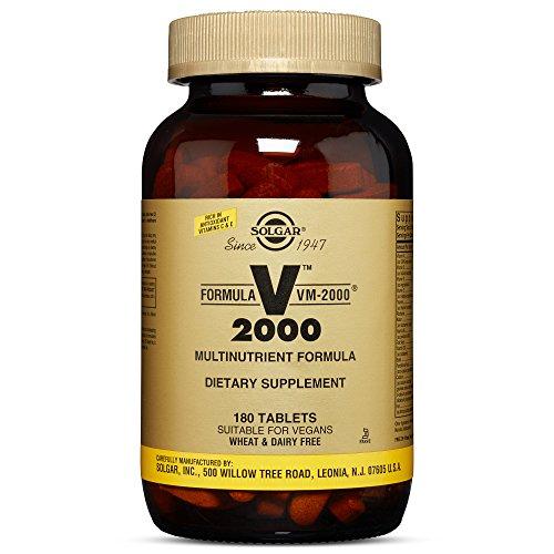 Solgar - Formula VM-2000 (Multi-nutrient System) 180 Tablets
