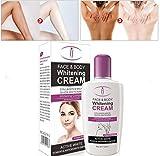 Skin Bleaching Body Lotion - 120ml Skin Whitening Cream for Body Face Dark Skin Bleaching Lotion Facial Cream by Superjune