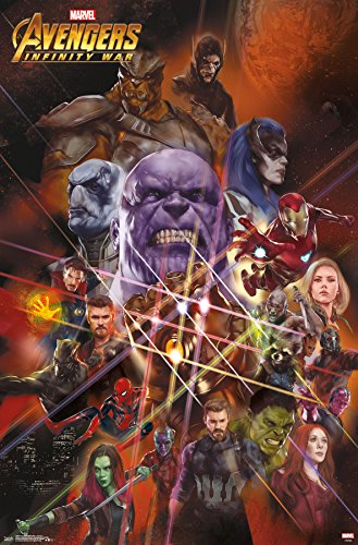 Trends International Avengers: Infinity War-Universe Wall Po