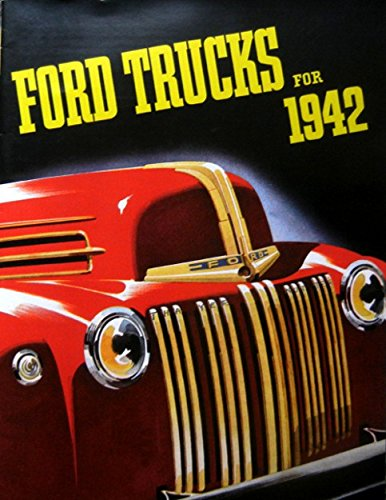 Download FULL COLOR 1942 FORD TRUCK & PICKUP DEALERSHIP SALES BROCHURE pdf
