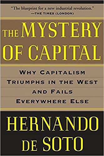 Image result for the mystery of capital