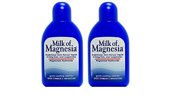 Amazon.com: Multibuy 2x Milk of Magnesia 200ml by MILK OF MAGNESIA: Health & Personal Care