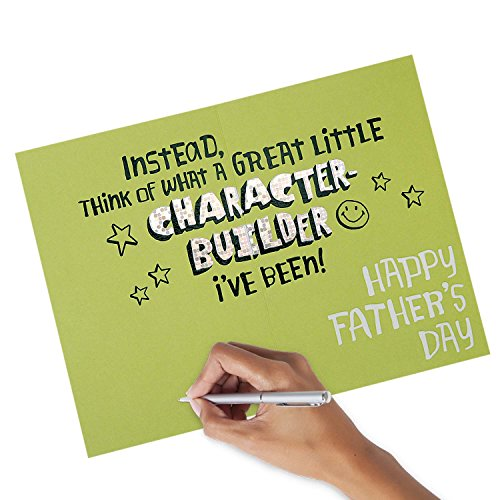 Hallmark Funny Father's Day Greeting Card (I've Been a Character Builder) Photo #4